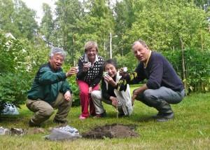 AsikkalaのMikko Kyostilaさんの庭