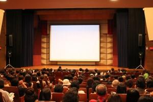 北海道大学クラーク会館での映画
